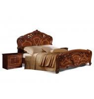 Кровать 2-х спальная (1,6 м) (1 спинка — шелкография) без лежака и матраца